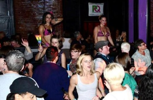 Hot Flash dances typically attract women from ages 30-45, but are open to anyone over 21. Photo by Jules Garza, PQ Monthly.