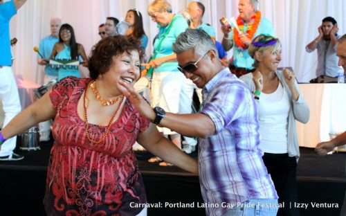 Portland Latino Gay Pride 2013, July 20-21; photo by Izzy Ventura, PQ Monthly.