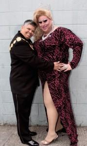Gina Valdez Kennady Smith (left) and Cassie Nova. Photo by Jeffrey Horvitz.
