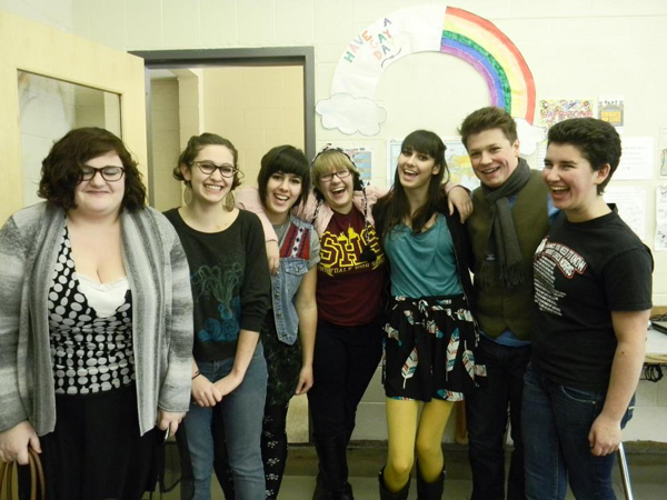 Bend High School is one of many area high schools that has a gay-straight alliance. Submitted photo.