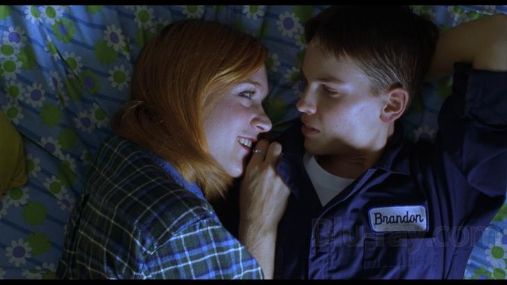 Hilary Swank won an Oscar for her portrayal on Brandon Teena (right) in Boys Don't Cry.